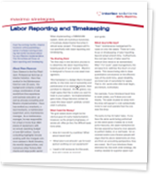 Labor Reporting and Timekeeping White Paper
